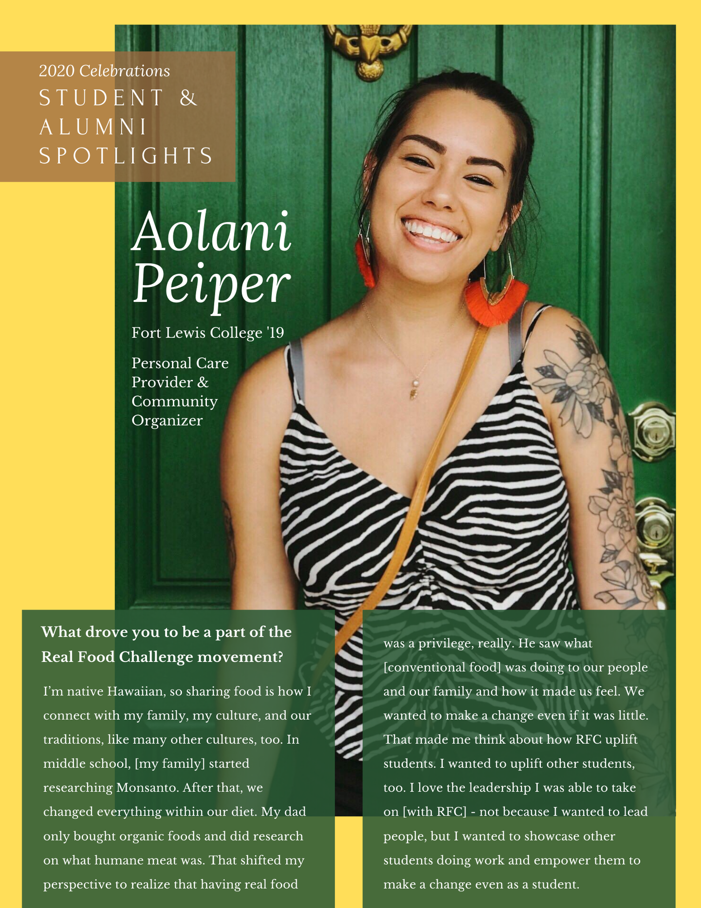 Aolani P. - Spotlights one-pager