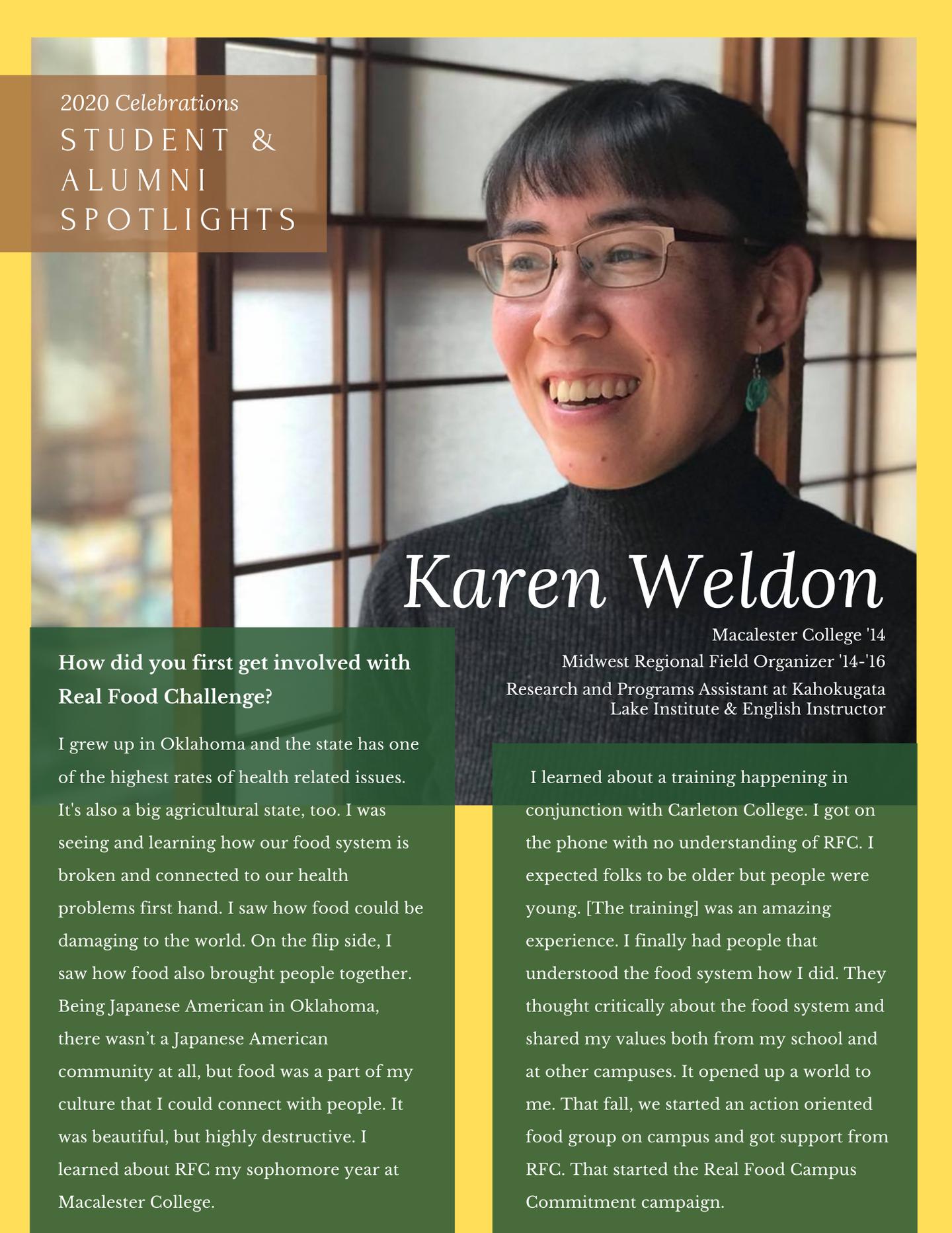 Spotlights - Karen W.
