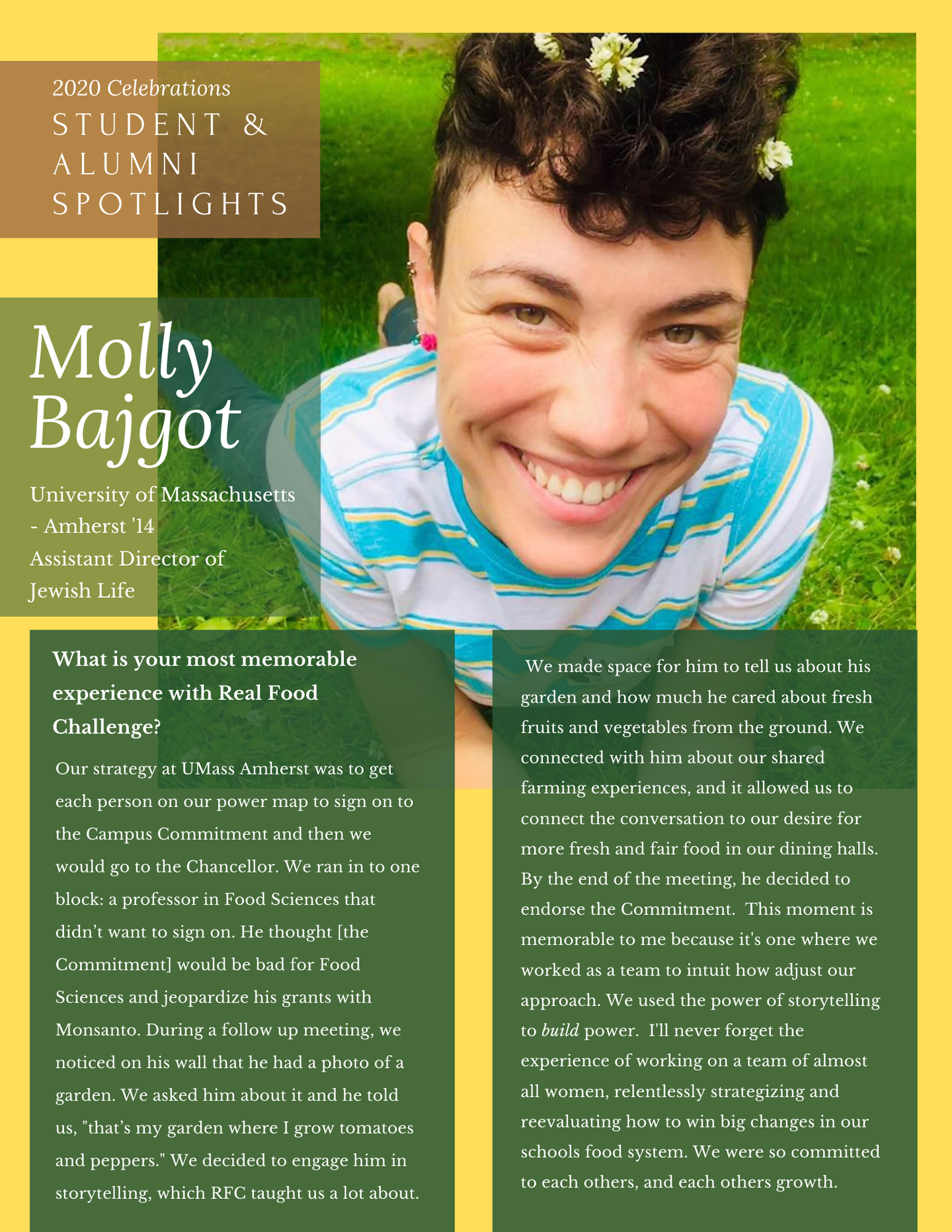 Spotlights - Molly B.