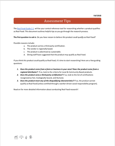 Preview Image: Assessment Tips