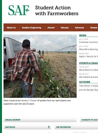 Preview Image: Student Action with Farmworkers