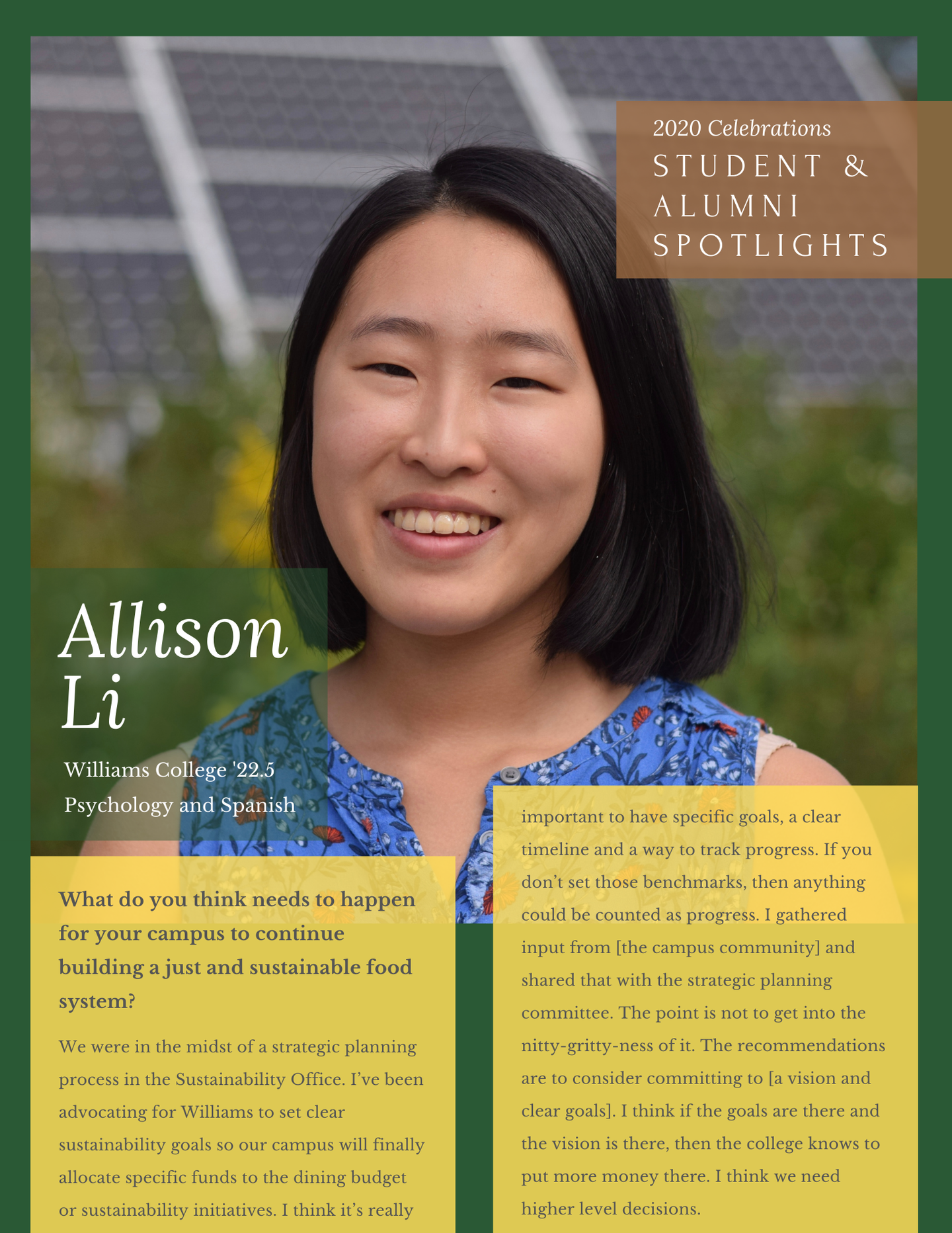 Allison L - one pager
