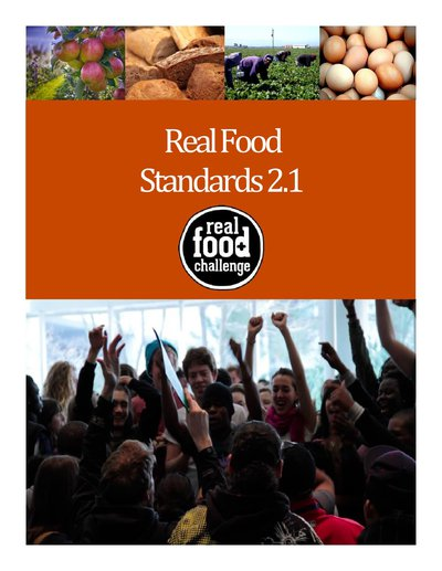 Teaser image: Announcing the Launch of the Real Food Standards 2.1!