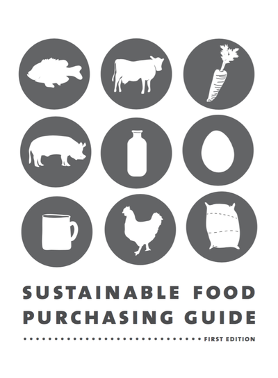 Preview Image: A Guide to Developing a Sustainable Food Purchasing Policy