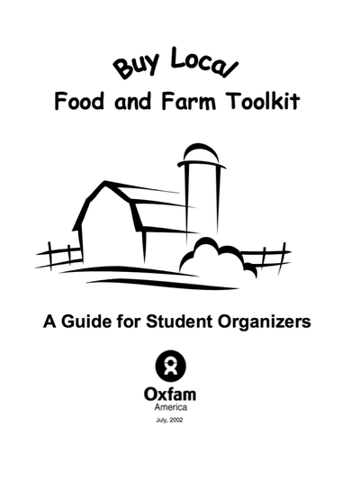Preview Image: Buy Local Food and Farm Toolkit: A Guide for Student Organizers