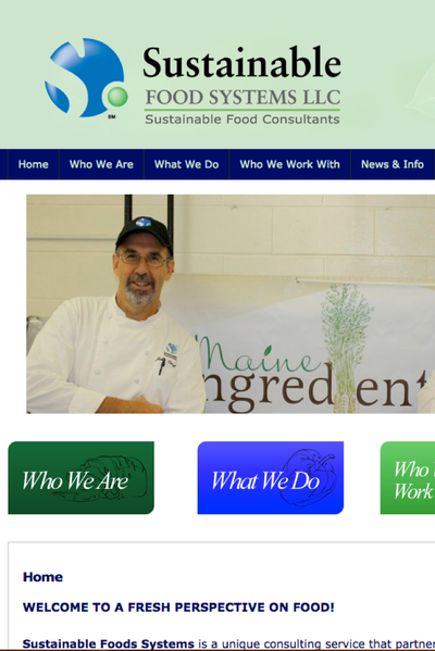 Preview Image: Sustainable Food Systems website