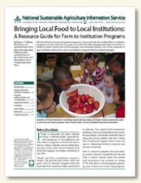 Preview Image: Bringing Local Food to Local Institutions