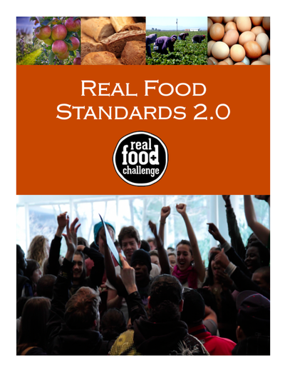 Preview Image: Real Food Standards 2.0